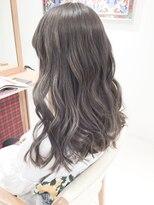 ☆透明感カラー☆ミルクティーアッシュベージュブリーチWカラー