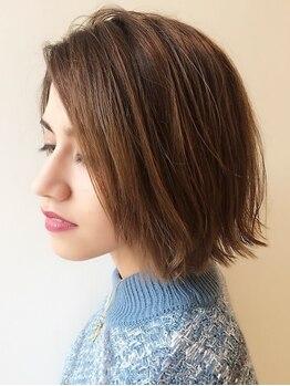 タクミカルム TAKUMI CALMEの写真/頭の形に合わせたカットで美シルエット!お客様目線のスタイル提案で思い通りのショートヘアが叶う☆