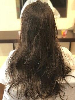 ヘアアンドスペース ベロン(hair&space velon)の写真/【SNSモデル&芸能人の間で話題!】THROWカラー(スロウカラー)取扱い☆ダメージレスで理想のカラーに♪