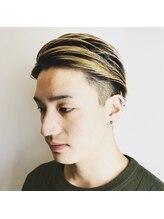 ヘアークリエイト ポライト(hair create Polite)2ブロックシルバーカラー