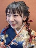 コレットヘア(Colette hair)卒業式☆セット