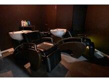 ヘアサロン レア(hair salon lea)の雰囲気(寝心地が良いシャンプー台。首に負担がかからない設計です。赤羽)
