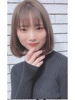 ルージュ(Rouge)【米倉和寿】大人かわいい 小顔ワンレンボブ