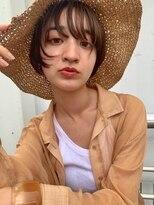 ベルビアンカ(Belle BIANCA)Belle BIANCA 伸ばしかけ前髪×ハンサムショート by.マツモト