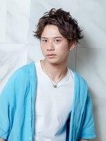 オーブ ヘアー フェアリー 鹿児島店(AUBE HAIR fairy)【AUBE HAIR】メンズパーマ×アップバング