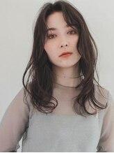 アグ ヘアー ライフ 宮崎台駅前店(Agu hair life)《Agu hair》フェミニンウェーブ小顔ロング