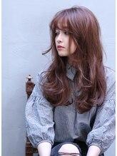 ヘア ラボ ニコ 藤沢店(hair Labo nico...)#ワイドバング#くびれミディ#モーブカラー#ネープレス