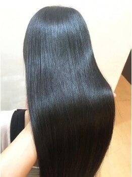 """イーヘアーシーオードット(e-hair co.)の写真/【話題沸騰】""""水素トリートメント""""で傷んだ髪を徹底ケア☆髪質改善効果で健康的&素髪のような美しさへ…♪"""