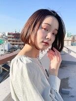 ヘアリゾート ブーケ(hair+resort bouquet)☆コンテスト入賞☆大人可愛い×春の似合わせボブ