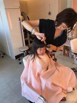 シャインステージアリス(Shine stage alice)の写真/【キッズスペース有♪】スタッフもママなので、赤ちゃんやお子様への気配り◎ママさんのリピーター様多数!!