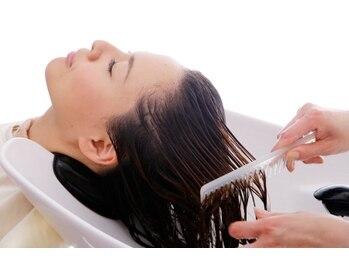 王様のイスの写真/【大人気】7種のオーガニックハーブエキスが、潤いに満ちたクリアな髪へと導きます《ホームケア付》