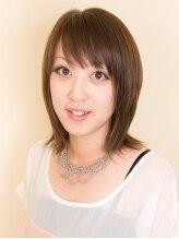 ヘアーサロン リラ(Hair Salon Lilas)アッシュがきれいなストレートスタイル