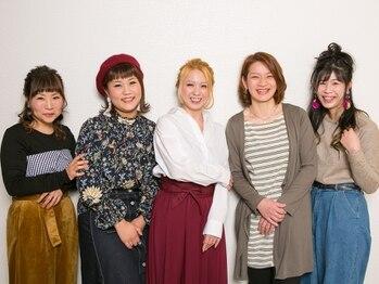 ヘアーアンドメイクアップMK 貝塚店(hair&make-up MK)の写真/【貝塚】リーズナブルな価格で賢く可愛く!経験豊富な女性スタイリストが多く、気軽に通える理想のサロン♪