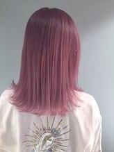 ヘアサロン エフ(HairSalon F)【HairsalonF】ピンクラベンダーカラー