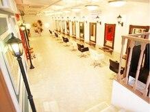 ヘアーデザイン スロープ 稲毛海岸店(Hair Design Slope)の雰囲気(1階の入口から少し降りた所で施術するので人目も気にならない。)