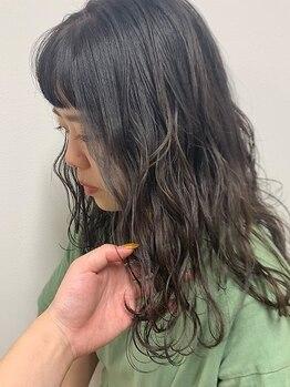 ロカ バイ ティアトロ ヘア サロン(ROCA by teatro hair salon)の写真/《カット+カラー¥6980》色持ち&ダメージレスなアドミオカラーで透明感を♪低刺激カラーで美しい髪へ