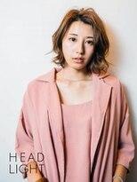 フローレス バイ ヘッドライト 三鷹店(hair flores by HEADLIGHT)外ハネ大人ボブスタイル