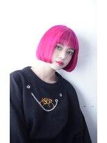 【OREO】切りっぱなしPINK         #デザインカラー