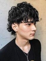 ゼロニイロク(026)《026 Style松坂良太》黒髪ウルフ×ハネパーマ
