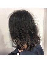 ウノプリール 梅田店(uno pulir)★unopulirUMEDA モーブカラーイルミナハイライトくびれミディ★