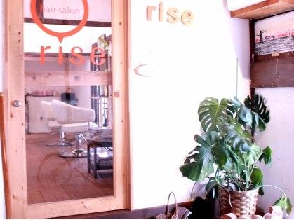 hair salon rise 枚方店