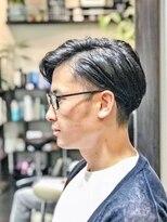 オムヘアーツー (HOMME HAIR 2)#ビジカジ#サイドパート#アシメ#アップバング#Hommehai2nd櫻井