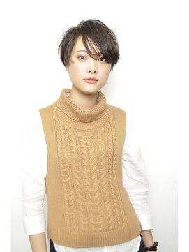 モードケイズ 宝塚店(MODE K's)26☆グレージュ/温感/ダークモカ/ボブ/くびれミディワイドバング