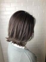 ヘア プロデュース キュオン(hair produce CUEON.)highlight × gray