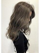 バベル(BABEL Hair Design)【BABEL】グレージュカラー@大生真吾