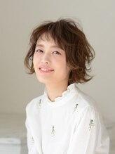 アース 渋谷道玄坂店(HAIR&MAKE EARTH)大人かわいい♪オン眉×美人ショートボブ