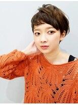 エイム ヘアメイク 横川店(eim HAIR MAKE)eimで叶える♪大人可愛い☆naturalマッシュショート