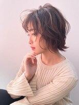 ルッソ(RUSSO)【RUSSO 内山】ラフウェーブ☆アッシュピンク