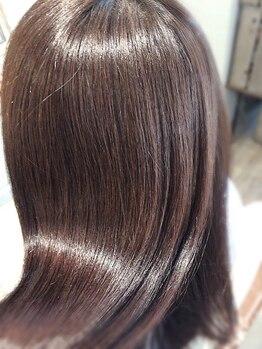 ディアプルール(DIAPRURE)の写真/大人女性の為の【髪質改善サロン】ダメージを内部から補修!最高級のTrで芯から艶髪が叶う!