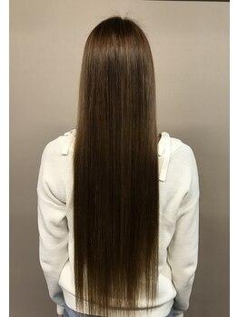 エイトホーム(8 home)の写真/《うねり毛・広がり毛にさようなら♪》 カット+縮毛矯正¥13,550☆ 毛先までちゅるんっとまとまる美髪に!