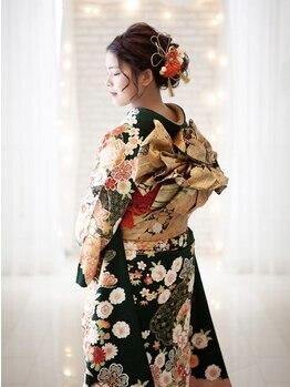 ラグゼヘアカミヤ 菊川店(luxe hair CAMIYA)の写真/大事なイベントも安心して楽しめる、崩れにくいプロの技をお届け★雰囲気に合わせたヘアセットもお任せ!