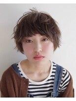 【+JOURS 加賀美 悟】カジュアル × マッシュショート