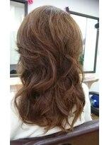 ヘアサロン シュシュ(Hair salon Chou chou)セミロングレイヤー