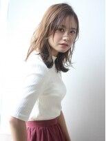 ケーツー 青山店(K two)【K-two】ゆるふんわり感こなれミディアム☆バーガンディカラー