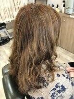 ヘアーアンドリフレッシュルアン(hair & refresh Ruan)フェミニンパーマ