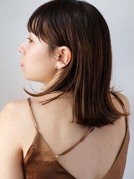 イースタイルコムズヘア 柳通り店(e-style com's hair)の写真/《縮毛矯正認定サロン》縮毛矯正専門メーカーとタイアップして開発した最新のストレートをご体験下さい♪