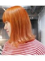 アルゴンキントウキョウ(THE ALGONQUIN TOKYO)フレッシュなオレンジカラー☆