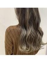ルーチェ ヘアーデザイン(Luce.hair.design)グレージュグラデーションカラー