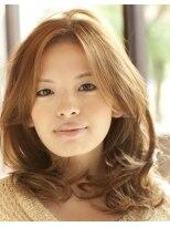 煌びやかな艶髪で可愛い印象派スタイル♪【NANANA PARENA】