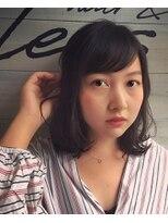ブレス ヘアアンドスパ 湘南台(bless hair spa)ラフミディアムスタイル