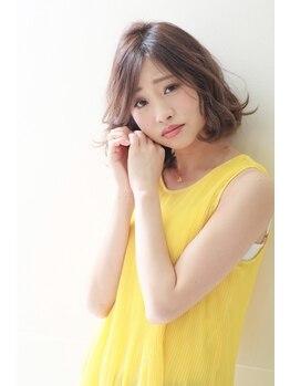 マウナ ヘアー(MAUNA HAIR)の写真/【新規/1日5名限定】カット+カラー¥11880→¥8000★トレンド感のある大人カワイイStyleに♪