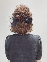 アリス ヘア デザイン(Alice Hair Design)Alice☆ボブ×ハーフアレンジ