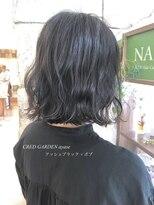 クレドガーデン 綾瀬店(CRED GARDEN)アッシュブラック × ボブ