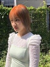 リッチ(RITZY)【RITZY】生え際カラー☆ブリーチカラー☆オレンジヘア