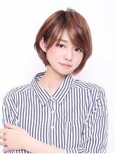デザインプロデュース ルームヘア 笹塚店(DESIGN PRODUCE Room hair)なめらかフォルムの大人ショートボブ【笹塚】