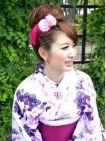 【プレストベル】 三つ編み入り純和風おだんご Ky-04